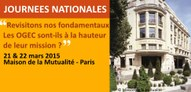 Journées nationales FNOGEC 21-22 mars 2015